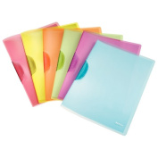 Colour clip file rainbow ... Esselte Esselte LEITZ rights stylish clear file binder filing storing