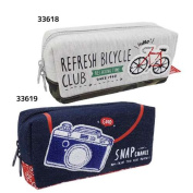 The goods mail order cinema collection which preparations miscellaneous goods pencil case has a cute in new entrance to school Kamio Japan new school term for Sagara embroidery pen porch BOX pen case 2,017 years
