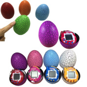 Tpocean Random Colour Tamagotchi Electronic Pets Toys Dinosaur Egg 49 Pets in One Virtual Cyber Funny Pet Game Toy Kids Gift