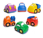 6 Push And Go Car Toys For Toddlers Cars for 3 year old Kids Boys and Girls