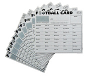 10 Football Fundraising Cards 40 Teams Social Clubs Darts
