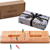 Hardwood Folding Cribbage Board - Complete with Pins - Jaques of London
