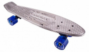 Karnage Chrome Retro Cruiser Skateboard - Various Colours