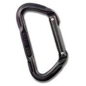 OMEGA PACIFIC Lite Standard D Carabiner Black