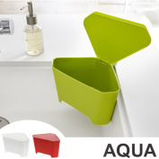 Product made in plastic with the sucker with the triangle corner aqua AQUA cover