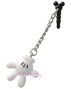 Mickey hands hand earphone Jack accessories Disney Resort with souvenir bag!!