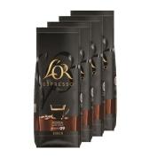 Douwe Egberts - L'OR Espresso Forza Beans - 4 x 500g