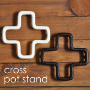 Spread a pan having a cute cross form pot stand, and spread / North European style fashion pan; Potstand pot mat
