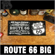 The bar mat ROUTE 66 big [Route 66 interior miscellaneous goods liquor miscellaneous goods]