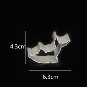 Aluminum Alloy Cookie Mold Dolphin Shape Biscuit Cutters Baking Tools
