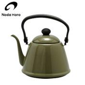 Noda enamel drip coffee kettle 2.0L olive DK-200 JAN