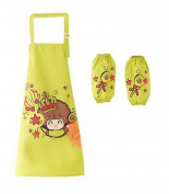 Painting Aprons Pretty Waterproof Artist Smocks For Kids . - 5 Lollipop Green