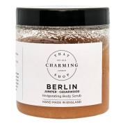 Berlin (Juniper / Cedarwood) Body Scrub (350g) - Pink Himalayan Salt - Jojoba Oil - Vegan - Cruelty Free