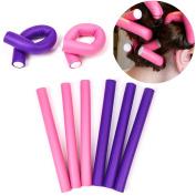24x Flexible Hair Rollers - Flexi Sponge Salon Quality Styling Soft Foam Rollers