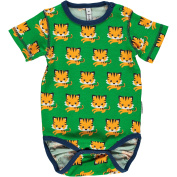 Maxomorra Baby Boys' Bodysuit green Grün