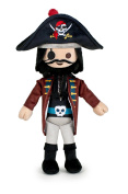 PLAYMOBIL - Plush toy the pirate with hat - Serie 2 - 30 Cm