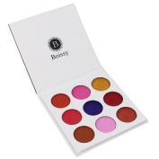 9 Colours Eyeshadow Palette Rawdah Luxury Golden Nude Eye Shadow Palettes