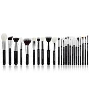 Jessup Brand 25pcs Professional Makeup Brush set Beauty Cosmetic Foundation Power Blushes eyelashes Lipstick Natural-Synthetic Hair Brushes