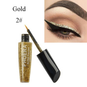 Sixcup 10 Colour Makeup Metallic Shiny Eyes Eyeshadow Waterproof Glitter Liquid Eyeliner