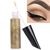 Pu Ran Long Lasting Sparkle Metallic Glitter Liquid Eyeliner Makeup Cosmetic Eye Liner - 02#