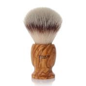 Timor - Shaving brush, synthetic hair, olive wood, holder