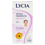 LYCIA Delicate Touch Face Waxing Strips Pack of 20