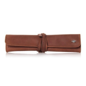 G & F - Vintage Edition Leather case for straight razors, with leather strap