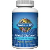 Garden of Life Whole Food Probiotic Supplement - Primal Defence HSO Probiotic Formula Dietary Supplement, Shelf Stable, 180 Vegetarian Caplets