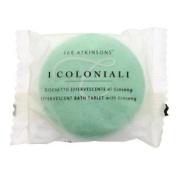 I Coloniali Effervescent Ginseng Bath Tablet, 25 g