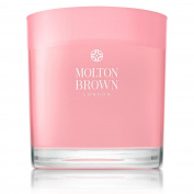 MOLTON BROWN Delicious Rhubarb & Rose Three Wick Candle 480 g