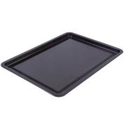 Large 30cm Steel Oven Baking Tray - Non-Stick Rectangle Roasting Tin/Sheet/Pan