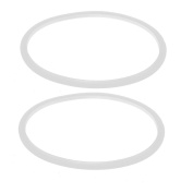 sourcingmap® 27mm OD Silicone Round Shaped Pressure Cooker Gasket Sealing Ring 2pcs