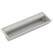 sourcingmap® 11cm Length Door Closet Plastic Pull Handle Grey