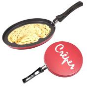 Non Stick 24cm Pancake/Crepe Pan - Shallow Frying/Cooking Pan