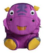 Emartbuy Kids Cute Smart Backpack Rucksack School Travel Bag - Rhino Purple