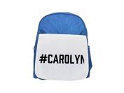 #CAROLYN printed kid's blue backpack, Cute backpacks, cute small backpacks, cute black backpack, cool black backpack, fashion backpacks, large fashion backpacks, black fashion backpack