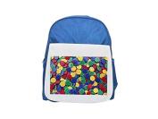 Drawing-pin printed kid's blue backpack, Cute backpacks, cute small backpacks, cute black backpack, cool black backpack, fashion backpacks, large fashion backpacks, black fashion backpack