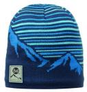 Buff Hat Knitted Polar Laki Blue