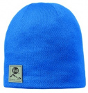 Buff Hat Knitted Polar Solid Blue