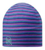 Buff Hat Micro Reversible Stripes Plum