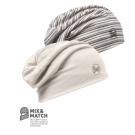Buff Hat Wool 2 layer Snow