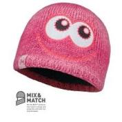Buff Junior Hat Knitted Polar Monster Pink