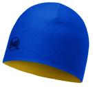 Buff Junior Hat Wool Reversible Cobalt -Apricot