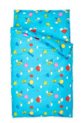 Kindertraum 520015001530 Children's Bedding Set, Balloons 40/60 and 100/135 cm, Turquoise
