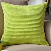 Baozengry Solid Candy Colour Sofa Pillow Simple Car,45X45Cm (With High Quality Core),Green