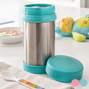 Flask for Babies – Insulated Food and Drink – Travel Mug – Stainless Steel Vacuum Flask – Flask Bottle – Glass Thermal Flask for Porridge