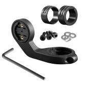 BlueBeach® Bike Handlebar Mount for Garmin GPS Bike Computer - Garmin Edge 20 / 25 / 200 / 500 / 510 / 800 / 810 / 1000
