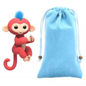Fingerlings Monkey Storage Bag , YOYOUG Dolls Portable Kids Play Storage Bag Toys Rug Box For Fingerlings Monkey