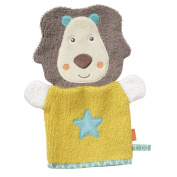 Fehn Funky Friends Collection Lion Flannel Mitt