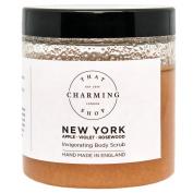 New York (Apple / Violet / Rosewood) Body Scrub - Pink Himalayan Salt - Jojoba Oil - Vegan - Cruelty Free